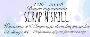 Baner Wyzwania #6 inspiracja piosenka